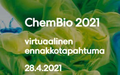 ChemBio Finland siirtyy vuoteen 2022, tämän vuoden huhtikuussa järjestetään virtuaalitapahtuma