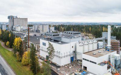 Fazerin ksylitolitehdas sai Suomalaisten Kemistien Seuran Kiertotalousinnovaatiopalkinnon